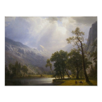 Yosemite Valley Matte Poster