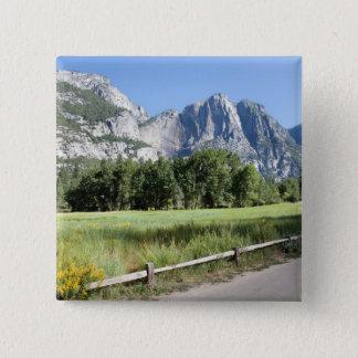 Yosemite Valley Meadow, El Capitan, Staycation Button