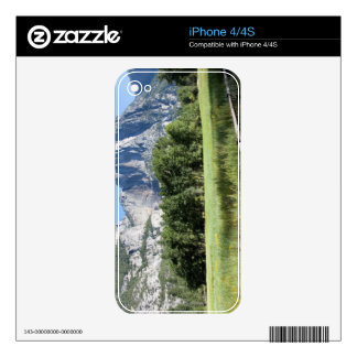 Yosemite Valley Meadow, El Capitan, Staycation Decal For iPhone 4S