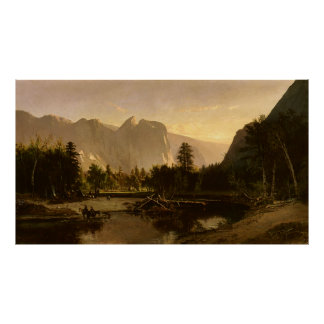 Yosemite Valley | Oil Painting by William Keith Poster