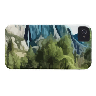 Yosemite Valley painting Case-Mate iPhone 4 Case