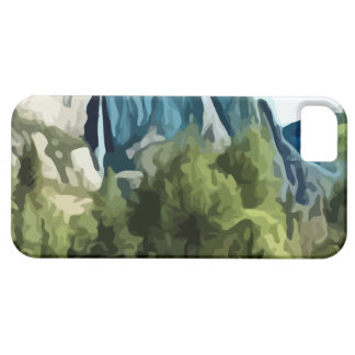 Yosemite Valley painting iPhone SE/5/5s Case