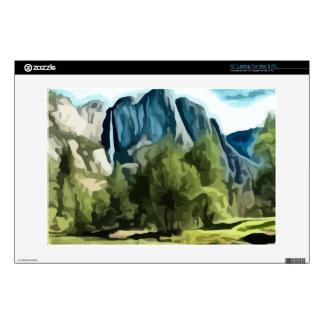 "Yosemite Valley painting Skin For 13"" Laptop"