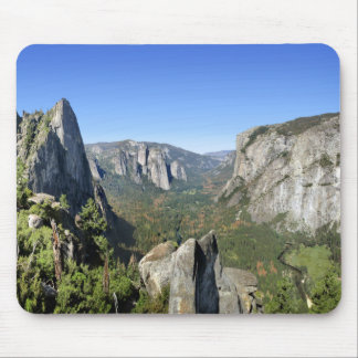 Yosemite Valley Panorama 2 - Yosemite Mouse Pad