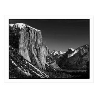 Yosemite Valley Postcard