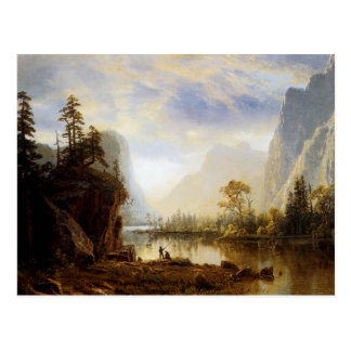 Yosemite Valley Postcard