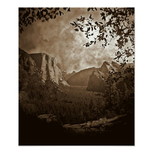 Yosemite Valley Posters