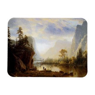 Yosemite Valley Vinyl Magnet
