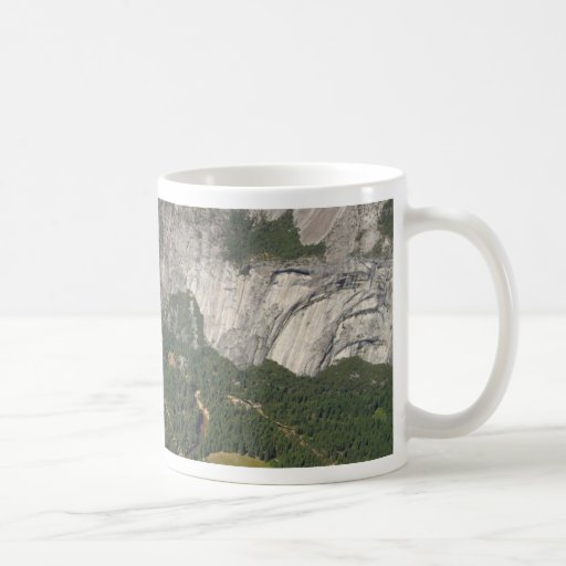 Yosemite Valley Seen From Glacier Point Classic White Coffee Mug