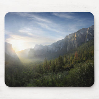 Yosemite Valley Sunrise from Inspiration Point Mouse Pad