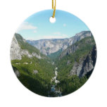 Yosemite Valley, Yosemite National Park Double-Sided Ceramic Round Christmas Ornament