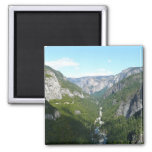 Yosemite Valley, Yosemite National Park 2 Inch Square Magnet