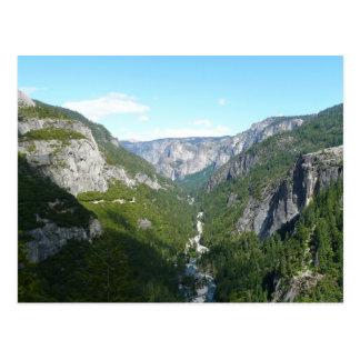 Yosemite Valley, Yosemite National Park Postcard