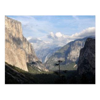 Yosemite Vally National Park Postcard