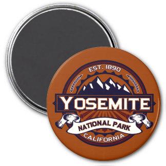 Yosemite Vibrant 3 Inch Round Magnet