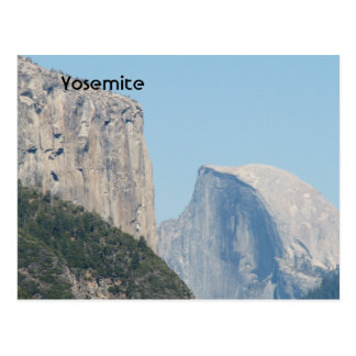 Yosemite Views Postcard