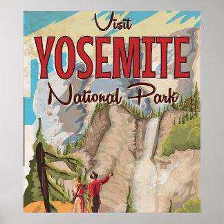 Yosemite Vintage Poster