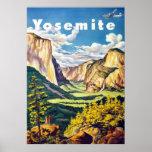 Yosemite ~ Vintage Travel Poster