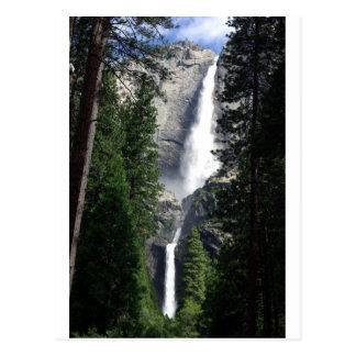 yosemite Waterfall Postcard