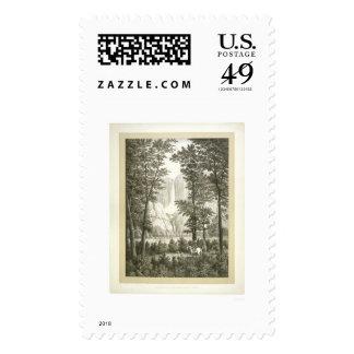 Yosemite Waterfalls, California    Stamp