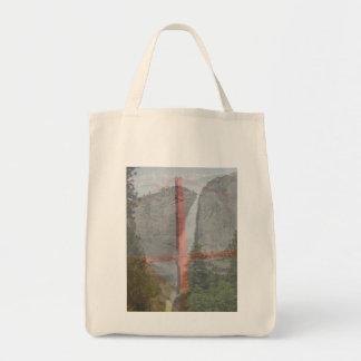 Yosemite y puente Golden Gate Bolsa Tela Para La Compra