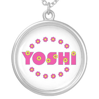 Yoshi in Flores Pink Custom Necklace