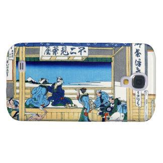 Yoshida at Tokaido Katsushika Hokusai Fuji Samsung Galaxy S4 Cover