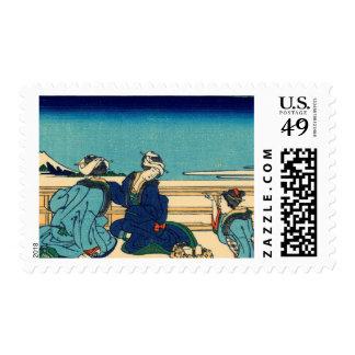 Yoshida on the Tokaido Postage Stamps