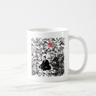 Yoshida Shoin and bird Coffee Mug