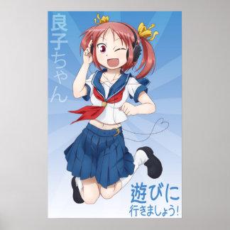 Yoshiko-chan Wall Poster