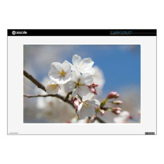"Yoshino Cherry Blossoms in Spring Bloom 15"" Laptop Skin"