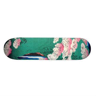 Yoshino Mountain Yamato Province Japan 1859 Skateboard Deck