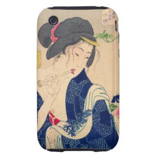 Yoshitoshi Waking Up iPhone 3 Tough Cases