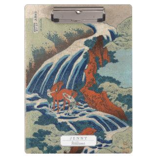 Yoshitsune Umarai waterfall at Yoshino in Washū. Clipboard