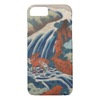 Yoshitsune Umarai waterfall at Yoshino in Washū. iPhone 7 Case