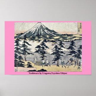 Yoshiwara by Utagawa,Toyohiro Ukiyoe Poster