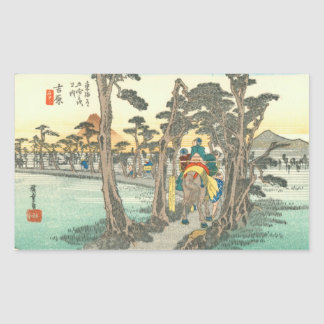 Yoshiwara Rectangular Sticker