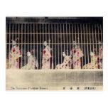 Yoshiwara, reproducción de la postal de las cortes