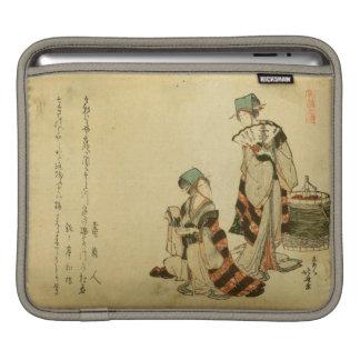 Yoshiwara Sparrow iPad Sleeve