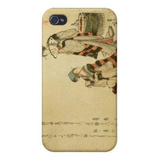 Yoshiwara Sparrow iPhone 4 Covers