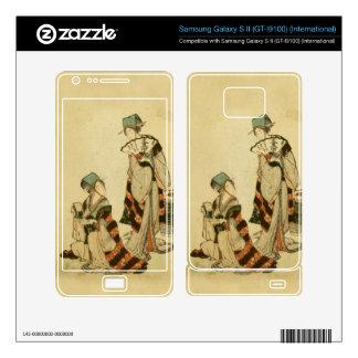 Yoshiwara Sparrow Samsung Galaxy S II Skin
