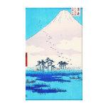 Yoshiwara Station 1855 Canvas Print