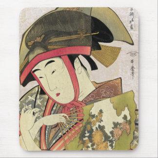 Yoshiwara suzume, Utamaro Mouse Pad