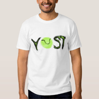 YOST You only serve twice tennis items T-Shirt