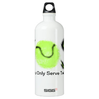 YOST You only serve twice tennis items Water Bottle