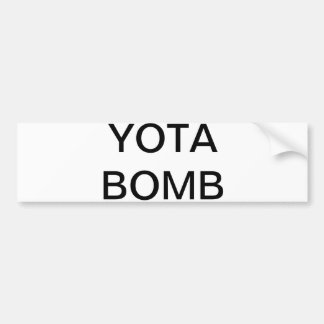 yota bumper sticker