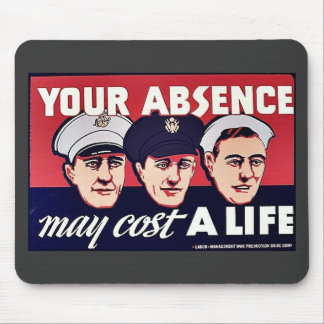 You Absence My Cost A Life Mousepad