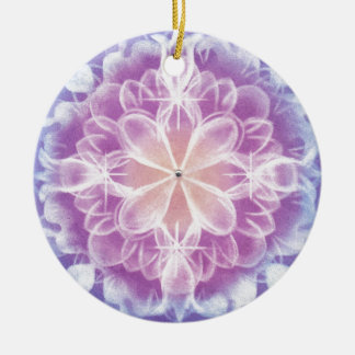 You accept Mandara art ~ by yourself Ceramic Ornament