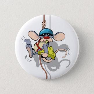 You Ain't Seen Me Climbing Rat Pinback Button