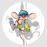You Ain't Seen Me Climbing Rat Classic Round Sticker
